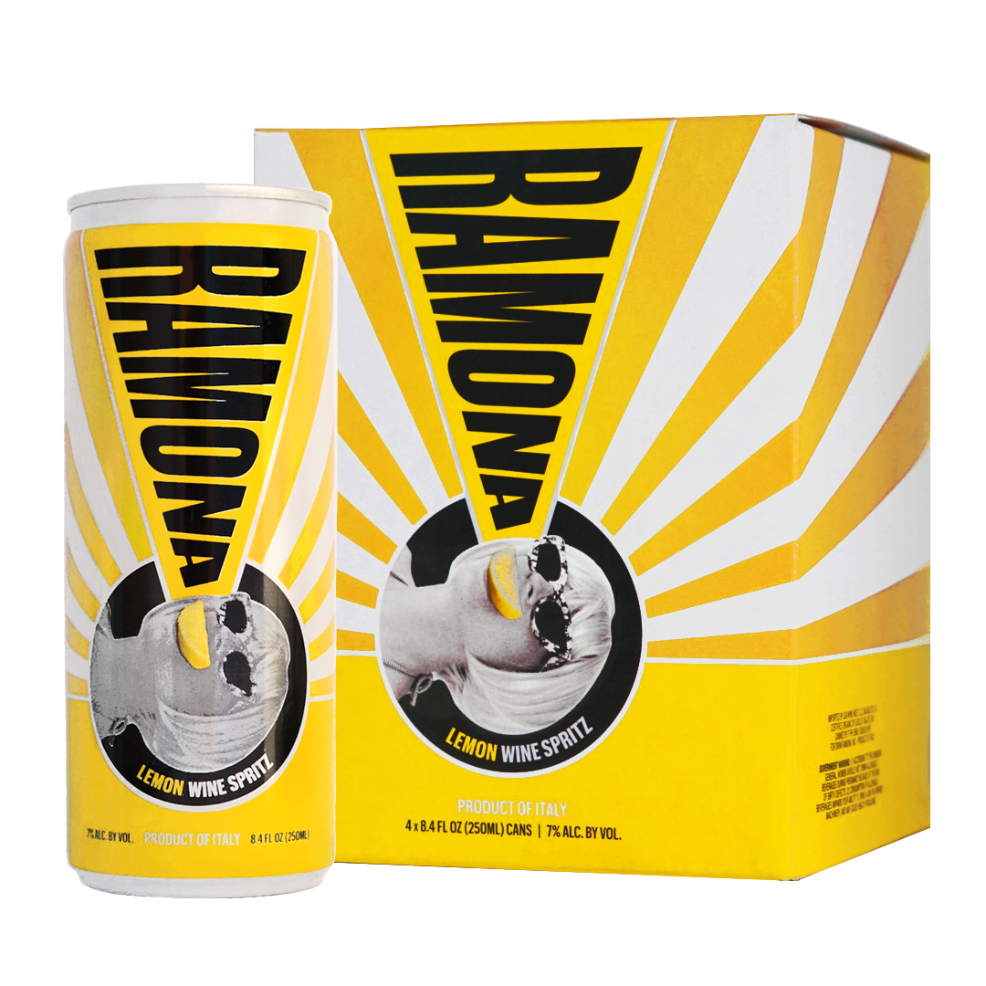 ramona 4 pack can lemon