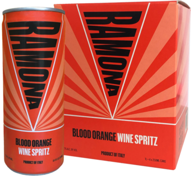 RAMONA 'Blood Orange' 4-Pack