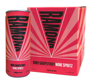 RAMONA 'Ruby Grapefruit' 4-Pack