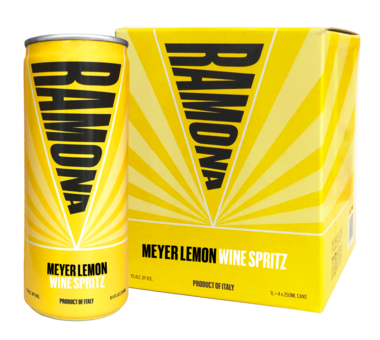 RAMONA 'Meyer Lemon Wine Spritz' 4-Pack