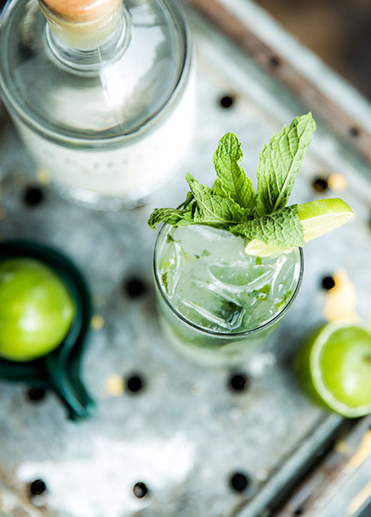 vodka mint to be