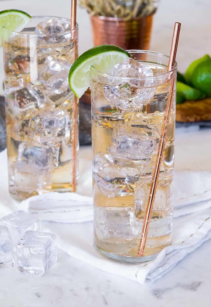 gin and ginger ale 1
