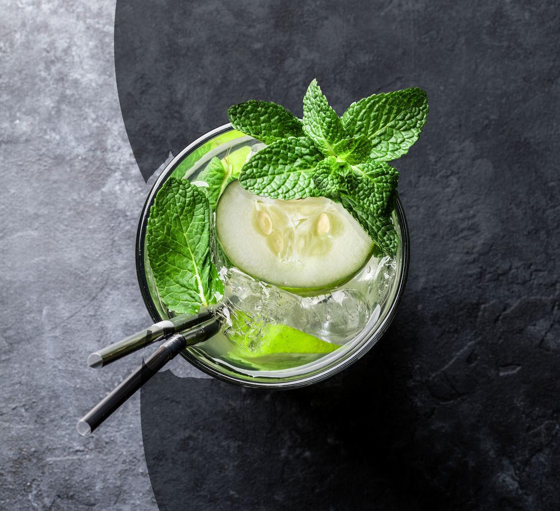 Cucumber VodkaMojito