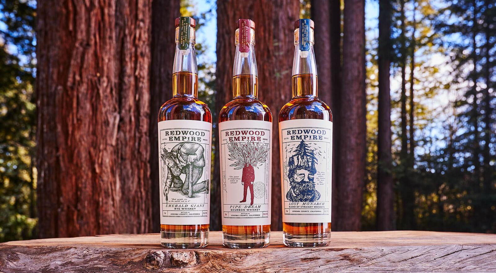redwood whiskeys family