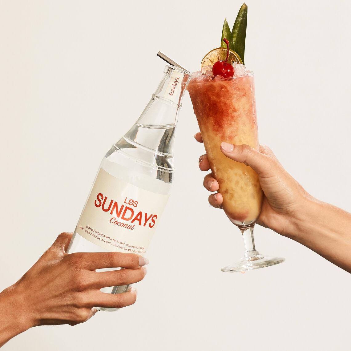 los sundays coconut tequila cocktail