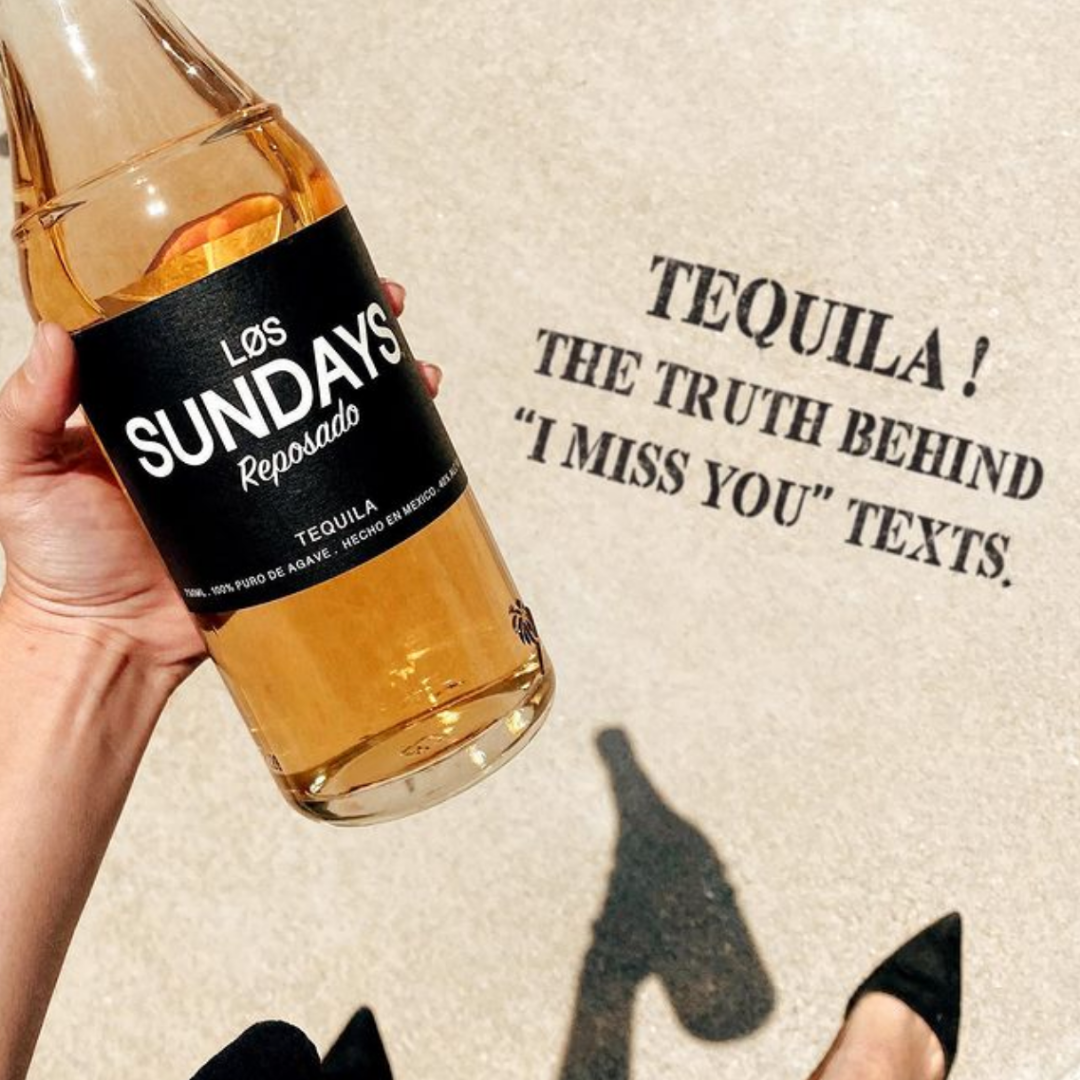 los sundays reposado tequila bottle 2