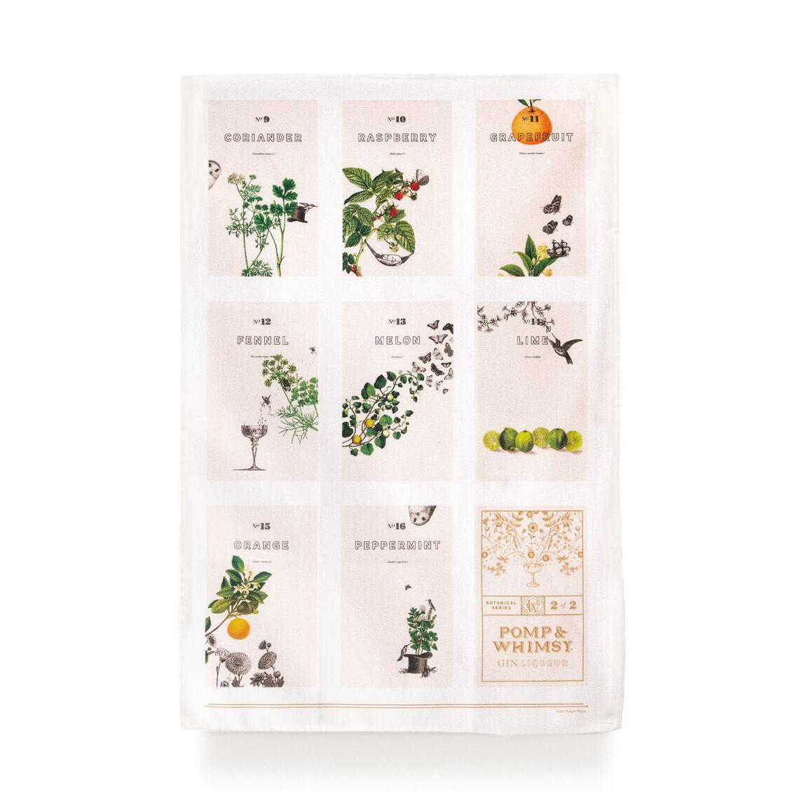 pw shop tea towel botanical set 3sq