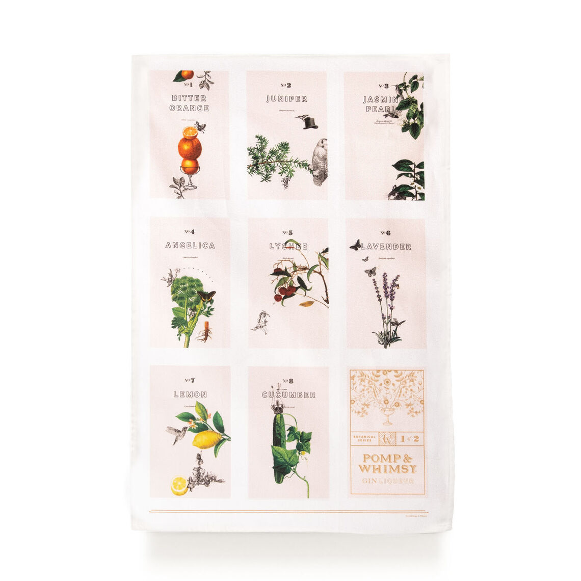pw shop tea towel botanical set 2sq