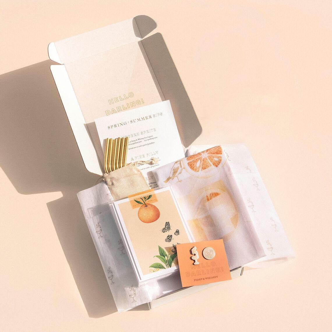 pw shop mostess gift set 1sq
