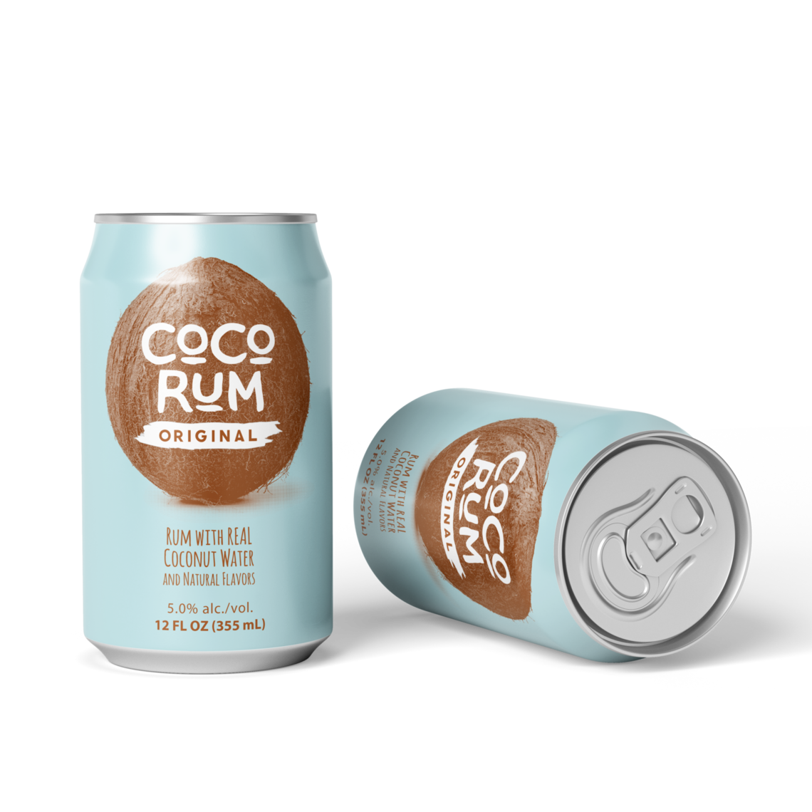 bd00003 coco can mockups usa rum 2cans