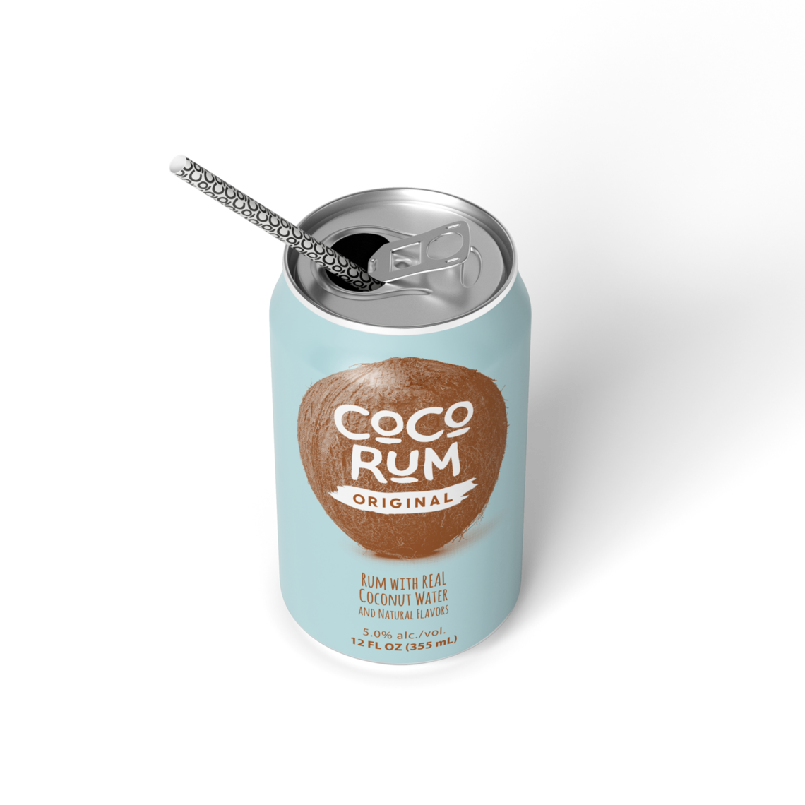 bd00003 coco can mockups usa rum straw