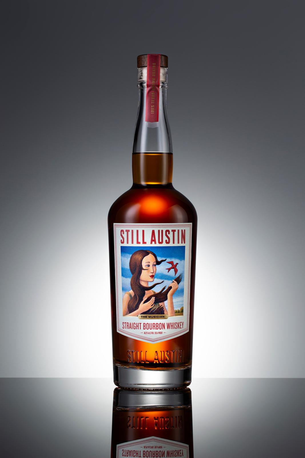 the musician straight bourbon whiskey