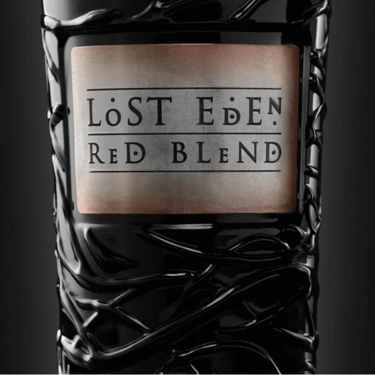 lost eden bottle label